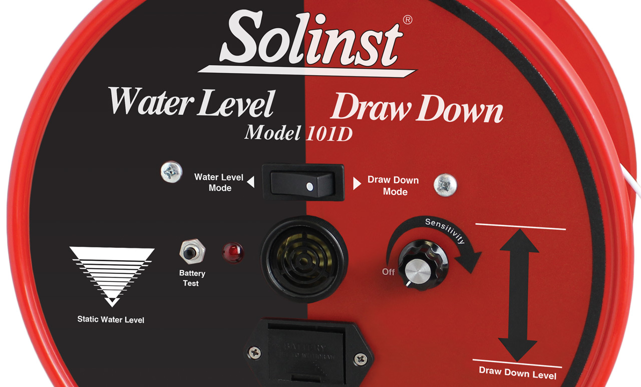 Freatimetro Solinst Drow Down Meter 101D
